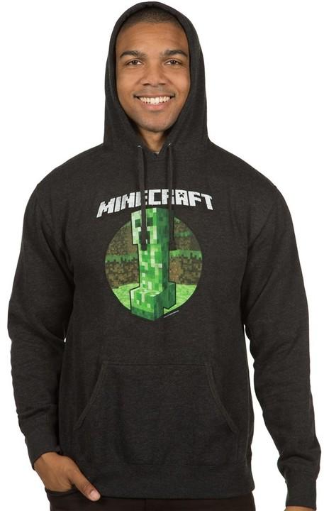Mikina Minecraft Retro Creeper Premium (US M / EU L)