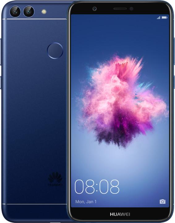 Huawei P smart, modrá