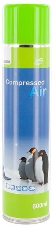 4World Stlačený vzduch, 600 ml
