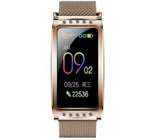 IMMAX chytré hodinky Crystal Fit, zlaté - HODIMM1069