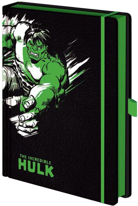 Zápisník Marvel - Hulk (retro), linkovaný (A5)