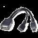 PremiumCord USB redukce USB A/Micro USB - Micro USB, OTG
