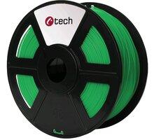 C-TECH tisková struna (filament), PETG, 1,75mm, 1kg, zelená - 3DF-PETG1.75-G