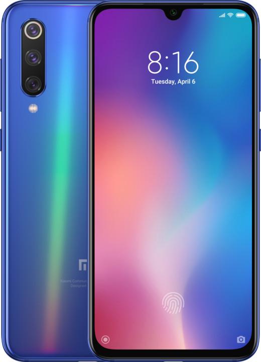 Xiaomi Mi 9SE, 6GB/128GB, modrá