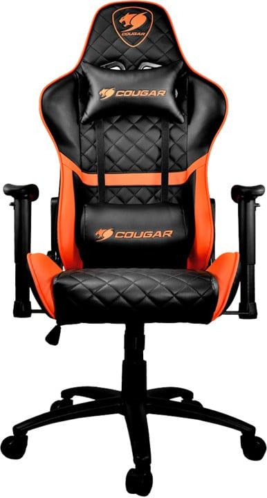 Cougar Armor One, černá/oranžová