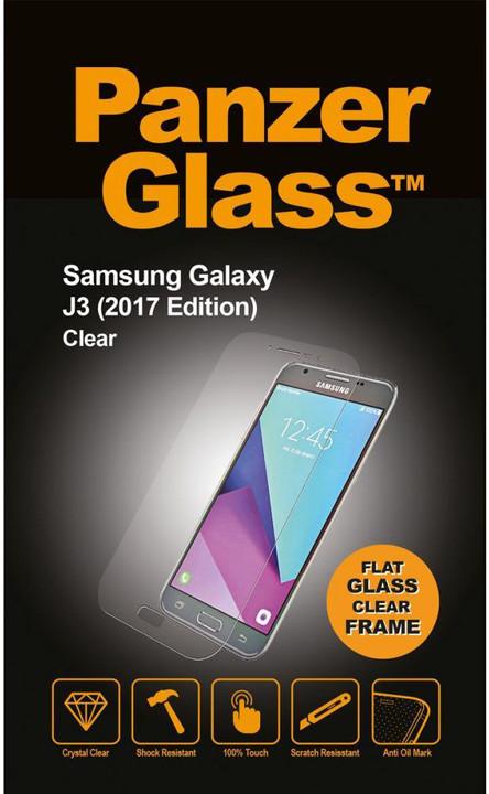 PanzerGlass Edge-to-Edge pro Samsung Galaxy J3 (2017), čiré