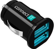 CONNECT IT CI-176 nabíječka do auta 2xUSB