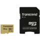 Transcend Micro SDHC 500S 16GB 95MB/s UHS-I U3 + SD adaptér