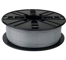 Gembird tisková struna (filament), PLA, 1,75mm, 1kg, stříbrná  + Možnost vrácení nevhodného dárku až do půlky ledna