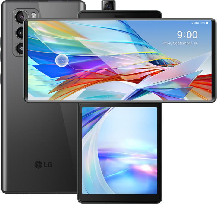 LG Wing 5G, 8GB/128GB, Aurora Gray