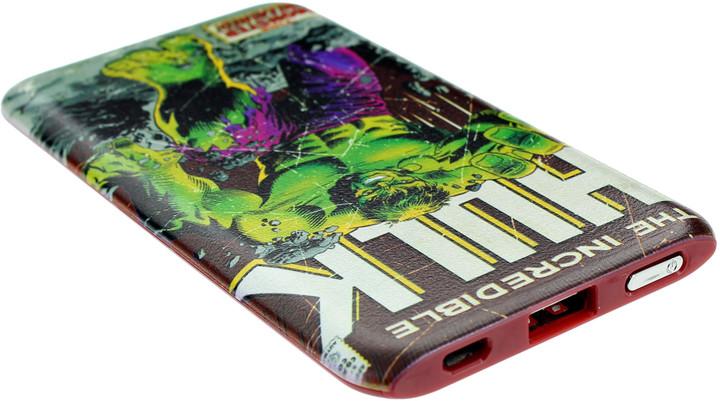 Powerbanka Marvel 4,000mAh Hulk