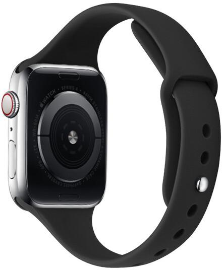 MAX silikonový řemínek MAS33 pro Apple Watch, 42/44mm, černá