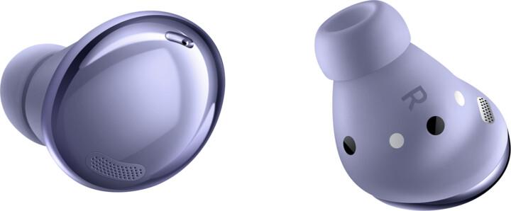 Samsung Galaxy Buds Pro, fialová