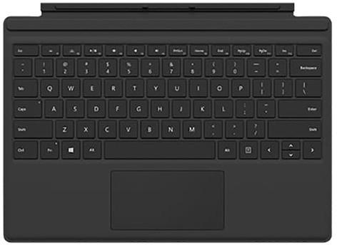 Microsoft Surface Pro 4 Type Cover, černá