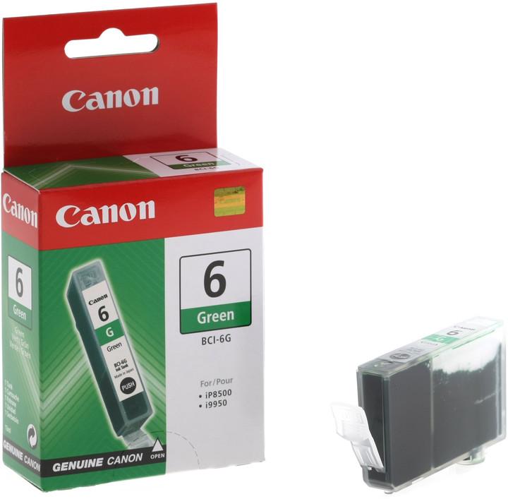 Canon BCI-6G, zelená