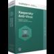 Kaspersky Anti-Virus 2017 CZ, 3 zařízení, 12 měsíců, nová licence