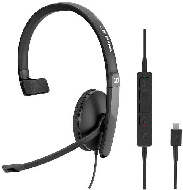 Sennheiser SC130 USB-C, černá