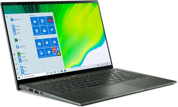 Acer Swift 5 (SF514-55TA-796X), zelená