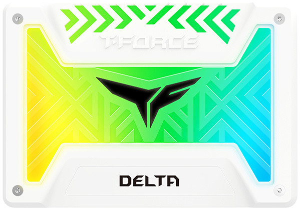 """Team T-FORCE DELTA RGB, 2,5"""" - 250GB, bílá"""