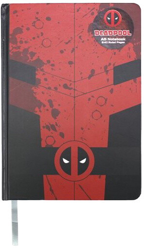 Zápisník Marvel - Deadpool (A5)