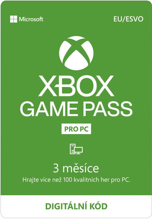 Microsoft Xbox Game Pass pro PC 3 měsíce - elektronicky