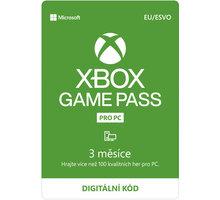 Microsoft Xbox Game Pass pro PC 3 měsíce - elektronicky - QHT-00003