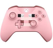 Xbox ONE S Bezdrátový ovladač, Minecraft Pig (PC, Xbox ONE) - WL3-00053