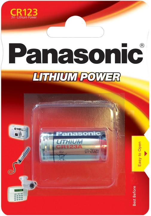 Panasonic baterie CR123 1BP Li