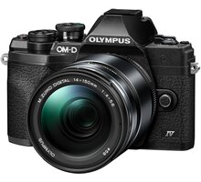 Olympus E-M10 Mark IV 14-150mm Kit, černá - V207133BE000