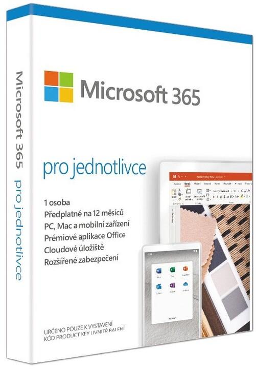 Microsoft 365 pro jednotlivce 1 rok - pouze s PC