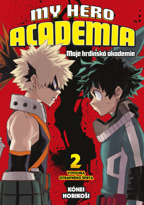 Komiks My Hero Academia - Moje hrdinská akademie 2