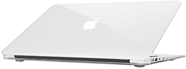 """EPICO plastový kryt pro MacBook Air 13"""" 2018 GLOSS (A1932), bílá"""