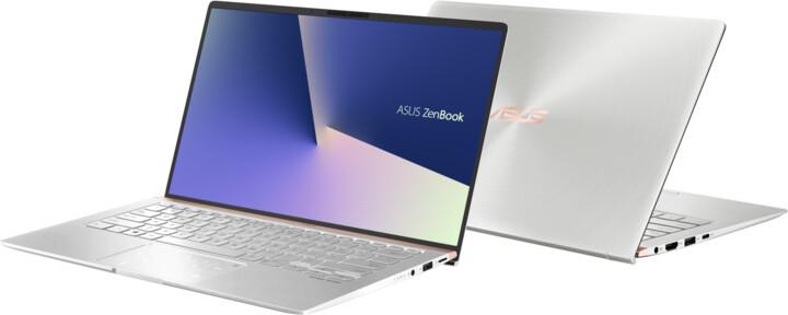 ASUS ZenBook 14 UX433FN, stříbrná