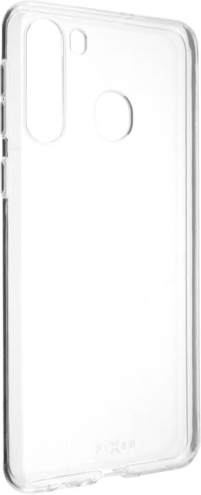 FIXED TPU gelové pouzdro pro Samsung Galaxy A21, čirá