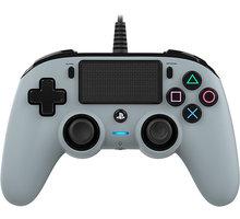 Nacon Wired Compact Controller, camo šedý (PS4)