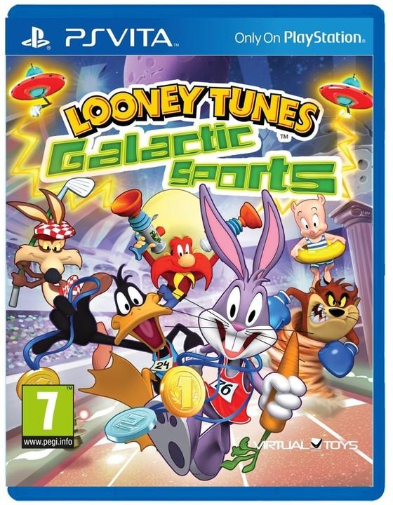 Looney Tunes: Galactic Sports (PS Vita)