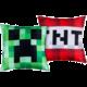 Polštář Minecraft - Creeper TNT