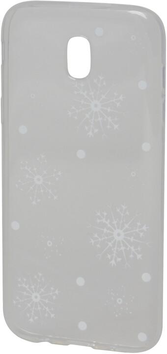 EPICO plastový kryt pro Samsung Galaxy J5 (2017) WHITE SNOWFLAKES