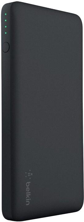 Belkin kapesní powerbanka 5000mAh, 1xUSB + microUSB kabel - černá