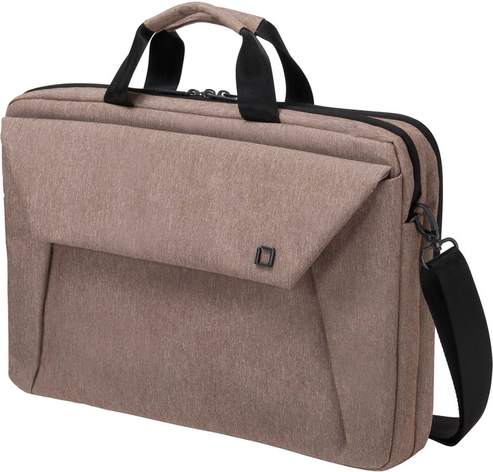 "DICOTA Slim Case Plus EDGE - Brašna na notebook - 15.6"" - sandstone"