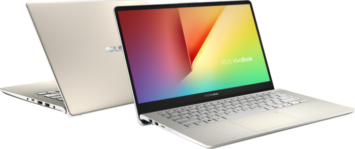 ASUS VivoBook S14 S430UA, zlatá