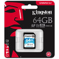 Kingston SDXC Canvas Go! 64GB, UHS-I U3