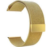 ESES milánský tah 42mm pro Apple Watch, zlatá