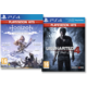 PS4 HITS - Horizon: Zero Dawn - Complete Edition + Uncharted 4: A Thief's End