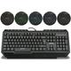 Rapoo VPRO V100 Gaming, set, černý