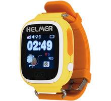 HELMERLK 703 dětské hodinky s GPS lokátorem, žluté - LOKHEL1015