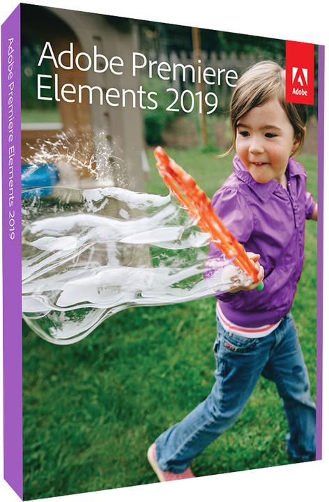 Adobe Premiere Elements 2019 CZ