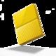 WD My Passport - 2TB, žlutá