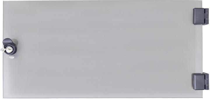 Triton dveře RAX-DC-A04-X1, 12U, celoskleněné