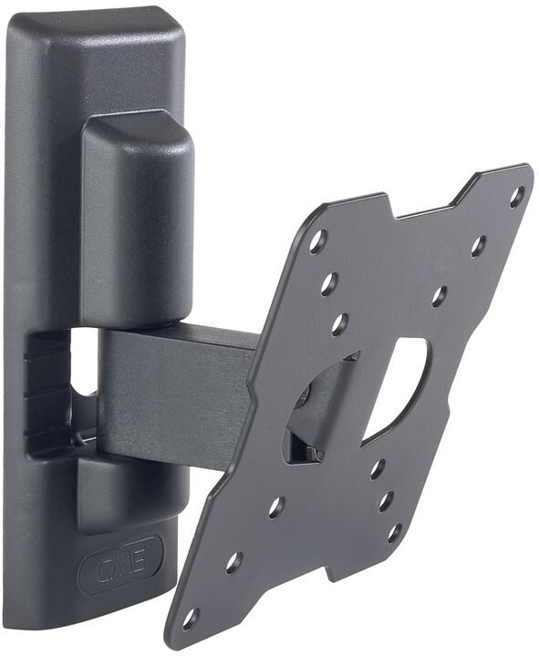 Meliconi 580454 FlatStyle ETR100 náklonný držák na TV, černá